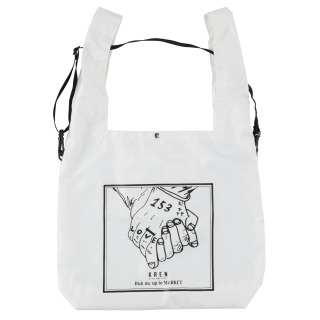 THE HAND ECO BAG_White<img class='new_mark_img2' src='https://img.shop-pro.jp/img/new/icons32.gif' style='border:none;display:inline;margin:0px;padding:0px;width:auto;' />