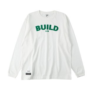 BUILD long T_white<img class='new_mark_img2' src='https://img.shop-pro.jp/img/new/icons32.gif' style='border:none;display:inline;margin:0px;padding:0px;width:auto;' />