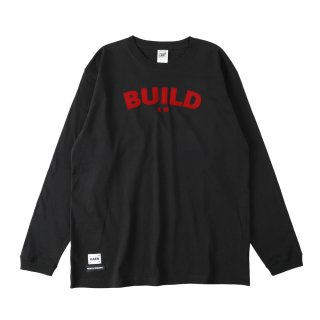 BUILD long T_Black<img class='new_mark_img2' src='https://img.shop-pro.jp/img/new/icons32.gif' style='border:none;display:inline;margin:0px;padding:0px;width:auto;' />