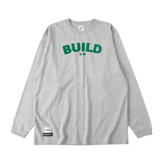 BUILD long T_Glay<img class='new_mark_img2' src='https://img.shop-pro.jp/img/new/icons8.gif' style='border:none;display:inline;margin:0px;padding:0px;width:auto;' />