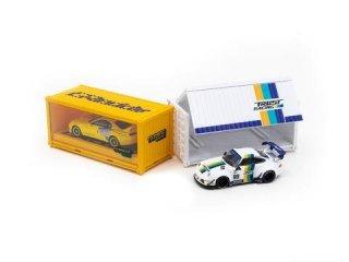 TARMAC WORKS × GReddy 1/64ミニカーセット【80スープラ・RWBポルシェ993・コンテナ】