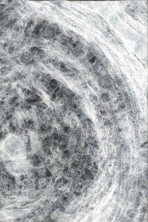 [002] 美術和紙 渦巻黒