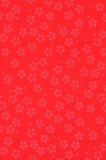 [102] 印傅風和紙 印傅梅鉢赤