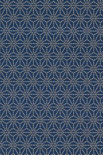 [110] 印傅風和紙 印傳麻の葉くずし藍