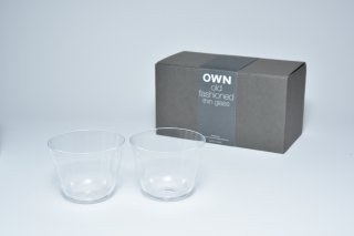 OWN glass old-fashioned / ギフトセット 2個入
