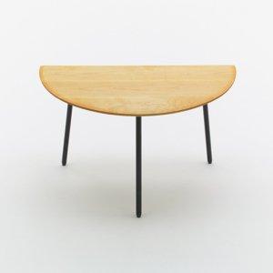 Muku Top Table - Semicircle [ ムク トップ テーブル ]_Narrative