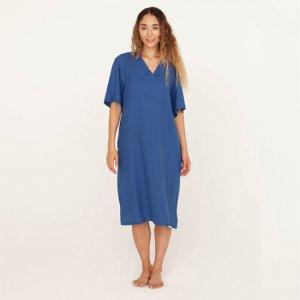 """NOWHAW """"zen"""" op pajama #oriental blue"""