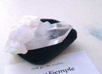 ホワイトテンプル・白い聖堂™(アーカンソー白水晶)原石 154g