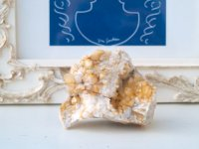 ニューヨーク産ゴールデンヒーラークォーツ群晶原石 113g