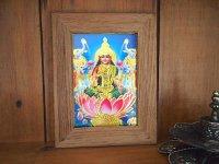 インドの神様カード『ラクシュミ』豊饒と美の女神