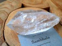 エナジャイズ『シャンバラの杖™』ヒマラヤ水晶原石 606g 神殿