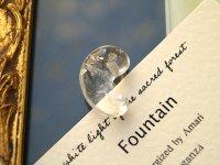 エナジャイズド「ファウンテン・聖なる泉」乙女鉱山水晶・出雲勾玉 2.5cm(2番さん)