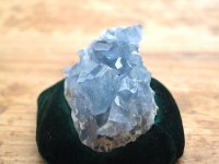 セレスタイト(マダガスカル)群晶原石269g