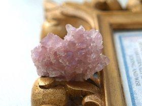 パタゴニア産ピンクアメジスト群晶原石 22g