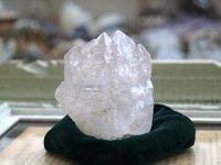 スカルドゥエレスチャルクォーツ原石 174g ほんのりアメジスト・セルフヒールド