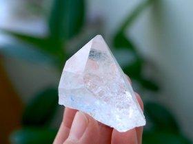 長野県産水晶 51g原石 セルフヒールド