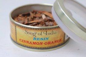 天然レジン(樹脂香)「シナモンオレンンジ」30g缶入り