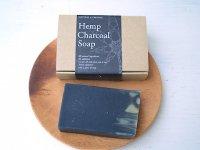 ハンドメイド石鹸 ヘンプチャコールソープ MOONSOAP