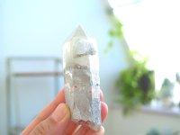 ギルギット産 ホワイトガーデン・クラウディヘッド・クォーツ 原石 97g レコードキーパー Mother&チャイルド・コンパニオン