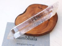 エナジャイズ『シャンバラの杖™』ホーリーワンド原石133g イシス・セルフヒールド・虹