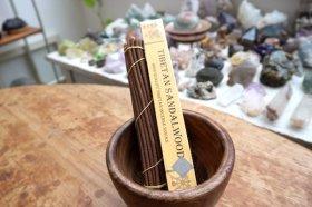 チベット香『Sandalwood 白檀』インセンススティック 天然成分100%
