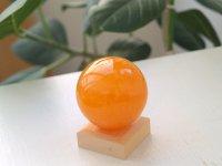 オレンジカルサイト(メキシコ)スフィア 51 mm