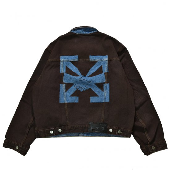 OFF-WHITE c/o VIRGIL ABLOH™ / AGREEMENT RELAXED FIT JEAN JACKET