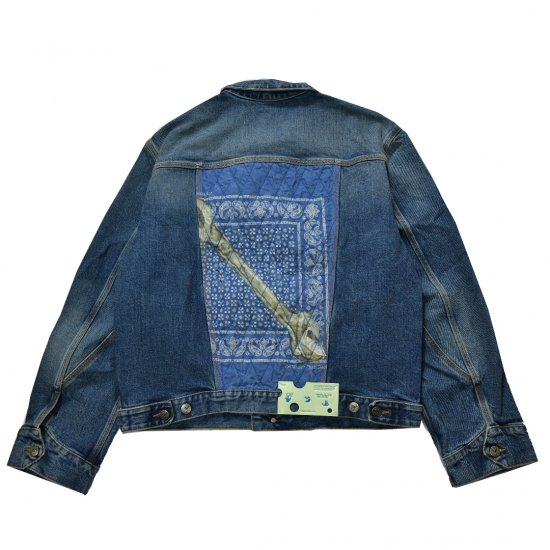 OFF-WHITE c/o VIRGIL ABLOH™ / RELAXED FIT JEAN JACKET W BANDANA