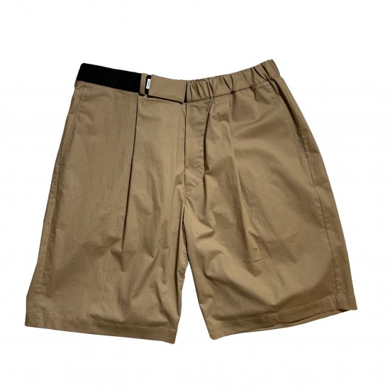 Graphpaper / STRETCH TYPEWRITER WIDE CHEF SHORTS