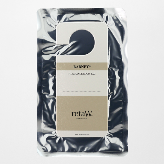 retaW / ROOM TAG BARNEY*
