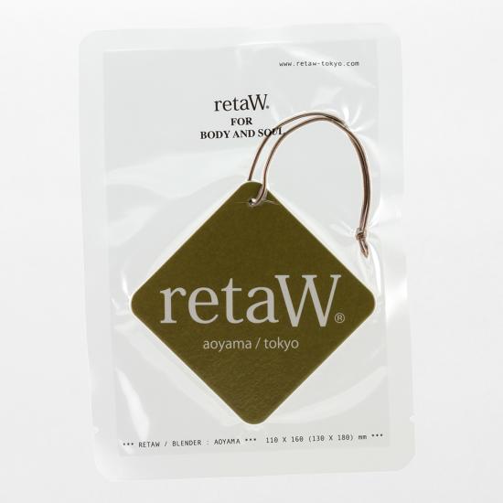 retaW / CAR TAG EVELYN*