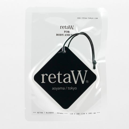 retaW / CAR TAG NATURAL MYSTIC*