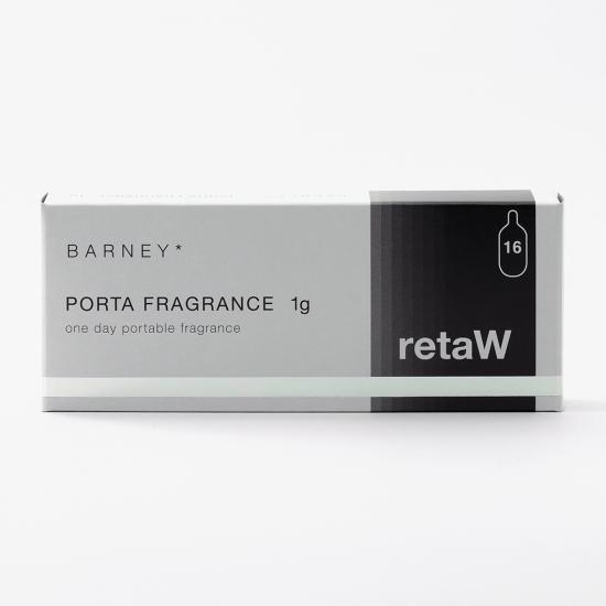 retaW / PORTA FRAGRANCE BARNEY*