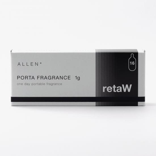retaW / PORTA FRAGRANCE ALLEN*