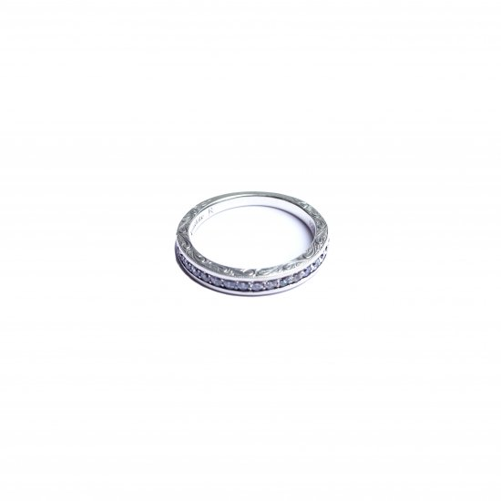 ANTIDOTE BUYERS CLUB / ENGRAVED PAVE RING