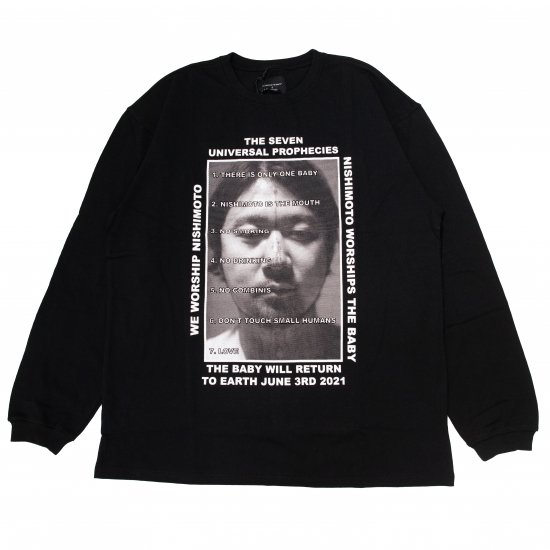 NISHIMOTO IS THE MOUTH / NISHIMOTO IS THE MOUTH L/S T-SHIRT BLACK