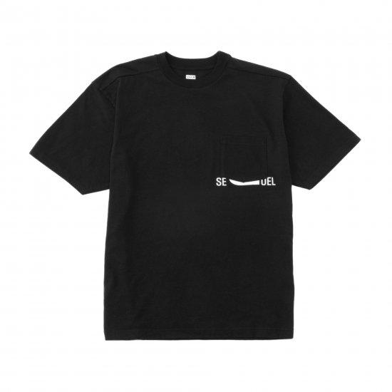 SEQUEL / POCKET PRINT T-SHIRT