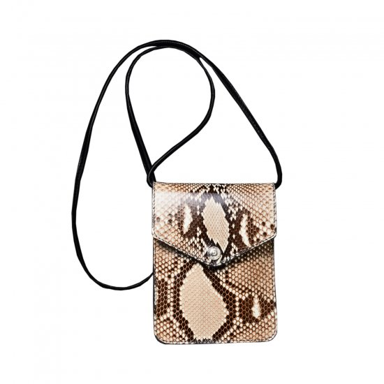 ANTIDOTE BUYERS CLUB / LEATHER WALLET BAG(PYTHON)