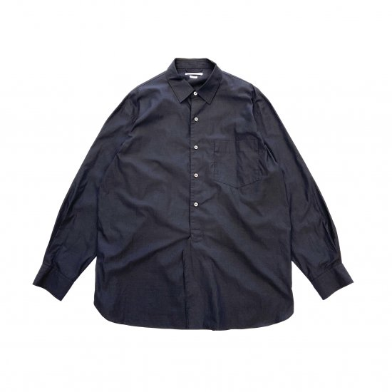 blurhms / HIGH COUNT CHAMBRAY WASHED SHIRT