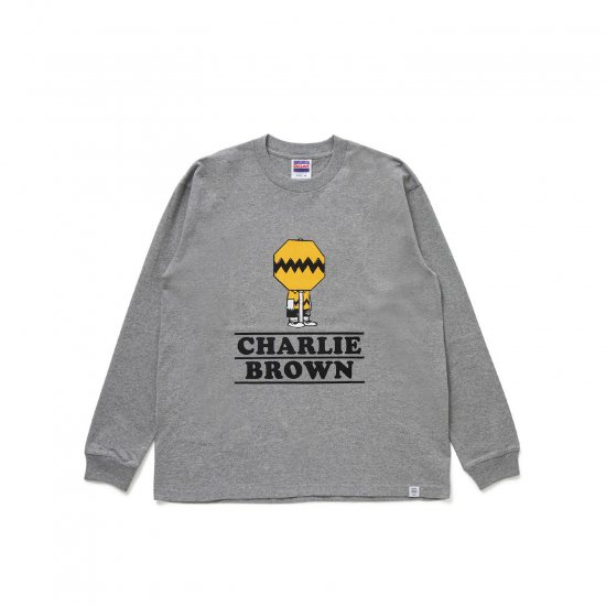 """BEDWIN & THE HEARTBREAKERS / L/S PRINT T """"CHARLIE BROWN"""""""