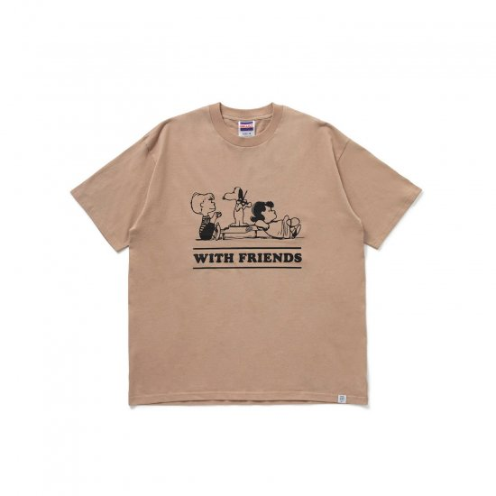 """BEDWIN & THE HEARTBREAKERS / S/S PRINT T """"WITH FRIENDS"""""""