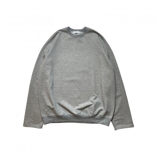 """Graphpaper / """"RE"""" COMPACT TERRY CREW NECK SWEAT"""