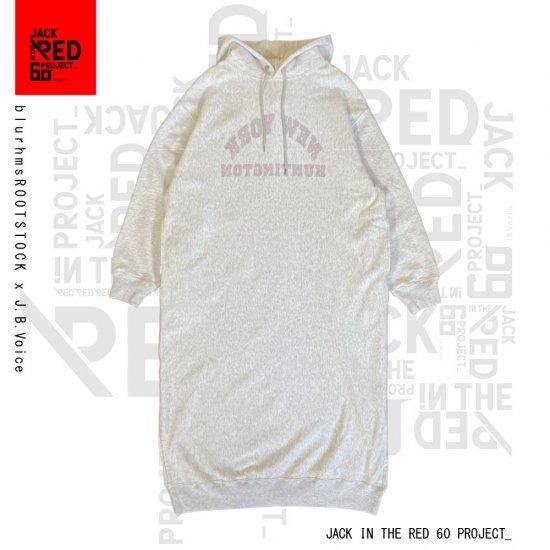 blurhmsROOTSTOCK /  × J.B.Voice SOFT & HARD SWEAT HOODIE P/O DRESS JBV
