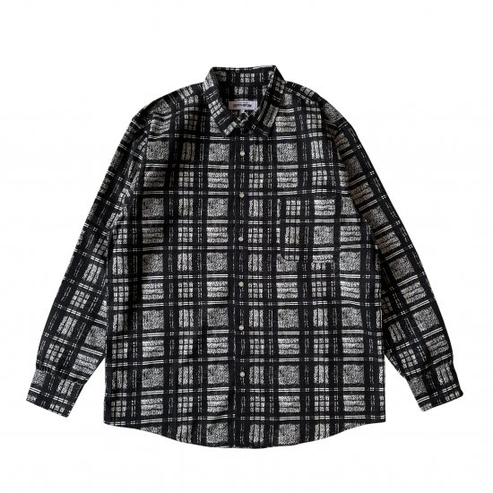 FUCKING AWESOME / DISTORTED PLAID L/S SHIRT