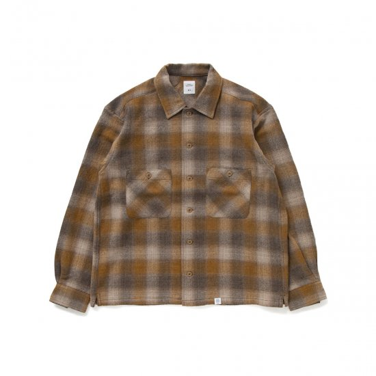 """BEDWIN & THE HEARTBREAKERS / L/S OMBERE CHECK SHIRT """"BOB"""""""