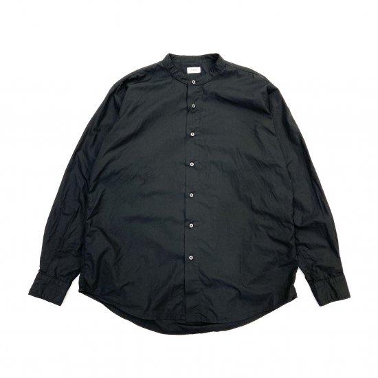 CIOTA / スビンコットン タイプライター バンドカラーシャツ