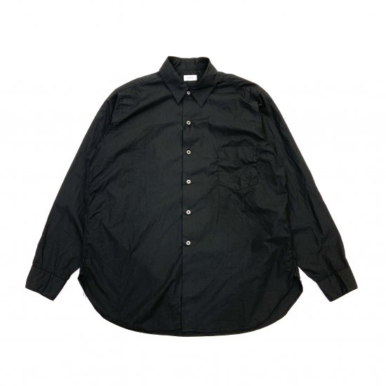 CIOTA / スビンコットン タイプライター レギュラーカラーシャツ