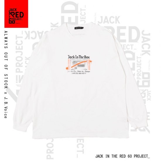 ALWAYS OUT OF STOCK / × J.B.Voice LIMITED LONG SLEEVE T-SHIRT