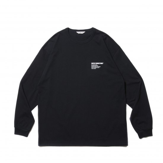 COOTIE PRODUCTIONS® / PRINT L/S TEE(LOGO)
