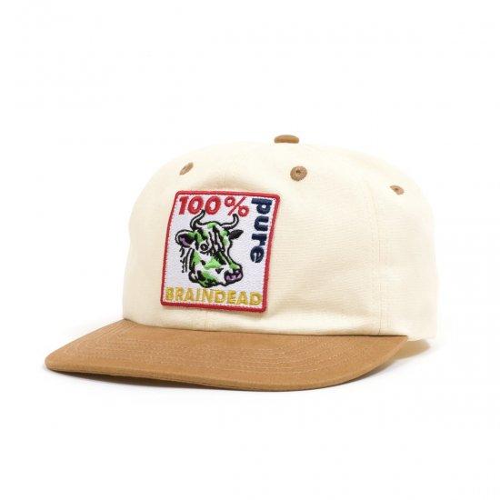 BRAIN DEAD / PURE COW 6 PANEL CAP